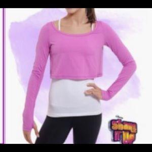Lululemon Ivivva Shake it Up dance shrug